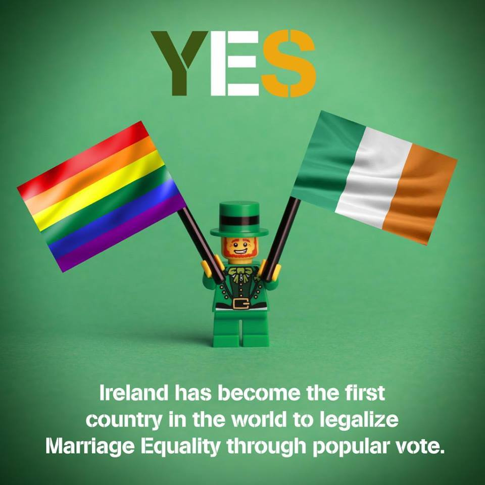 Ireland say YES to Marriage Equality Facebook.