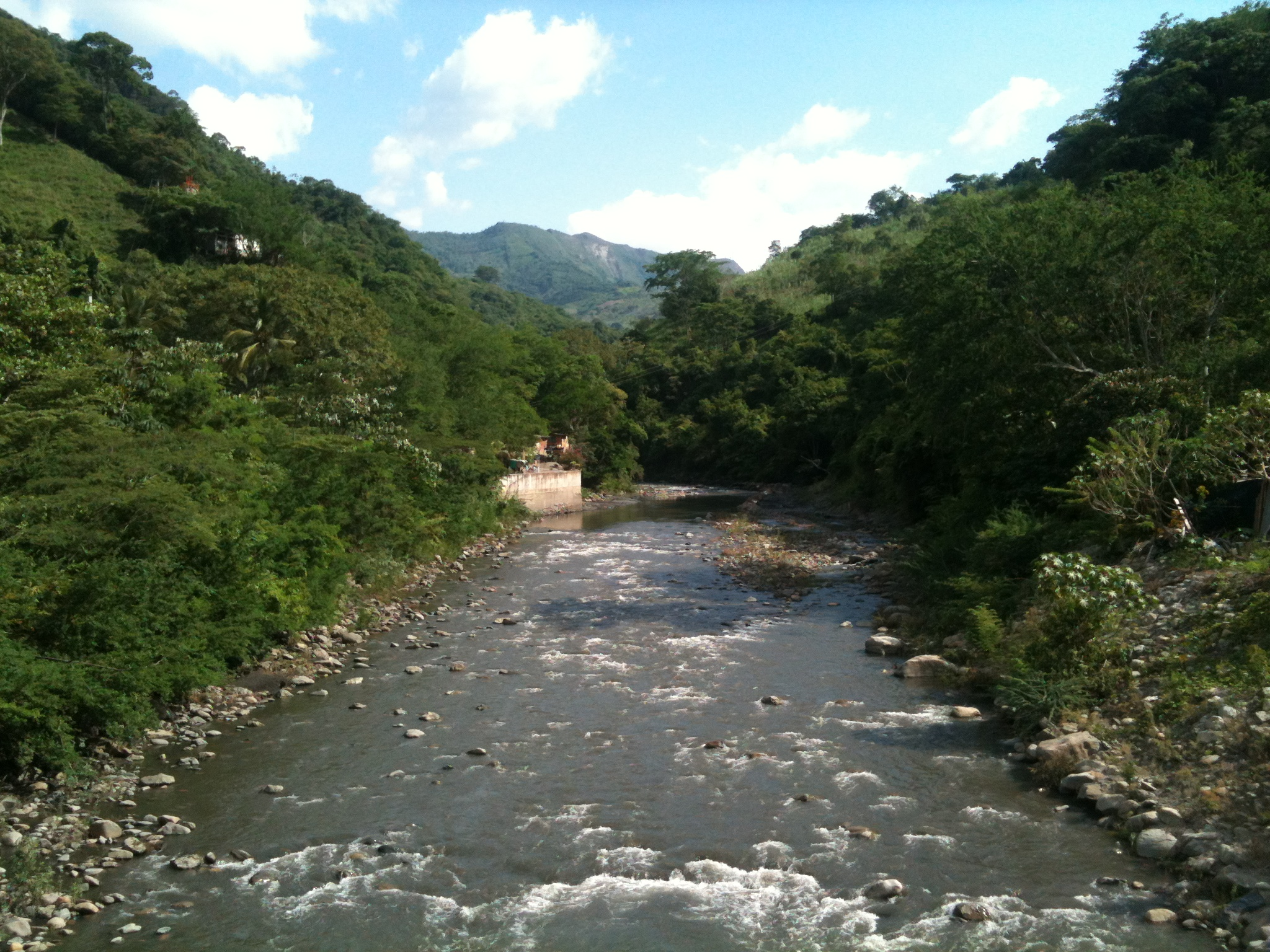 Río Negro, Tobia, Cundinamarca, Colombia.