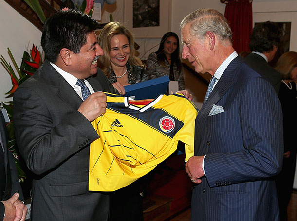 Prince Charles visits Colombia, the start of the English domination ...