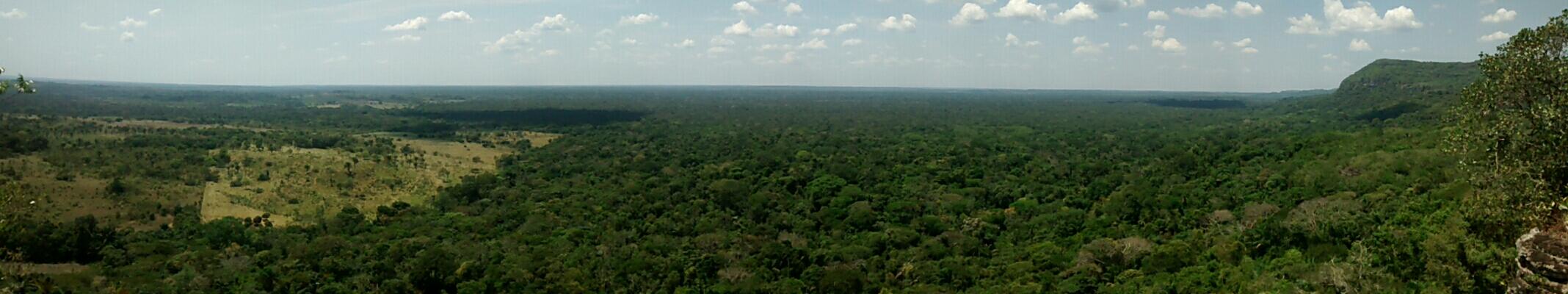 The view from Cerro Azul, Guaviare, Colombia ...