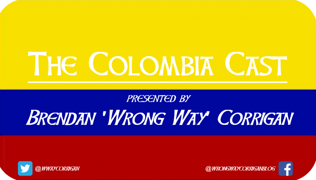 The Colombia Cast logo original