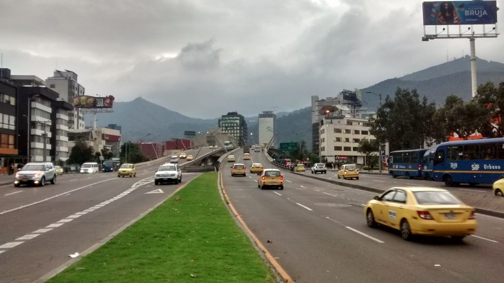 Bogotá's car-free day, 'Día sin carro', has been somewhat successful over the years.